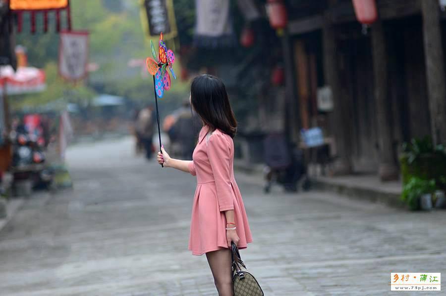 蒲江西来古镇街景
