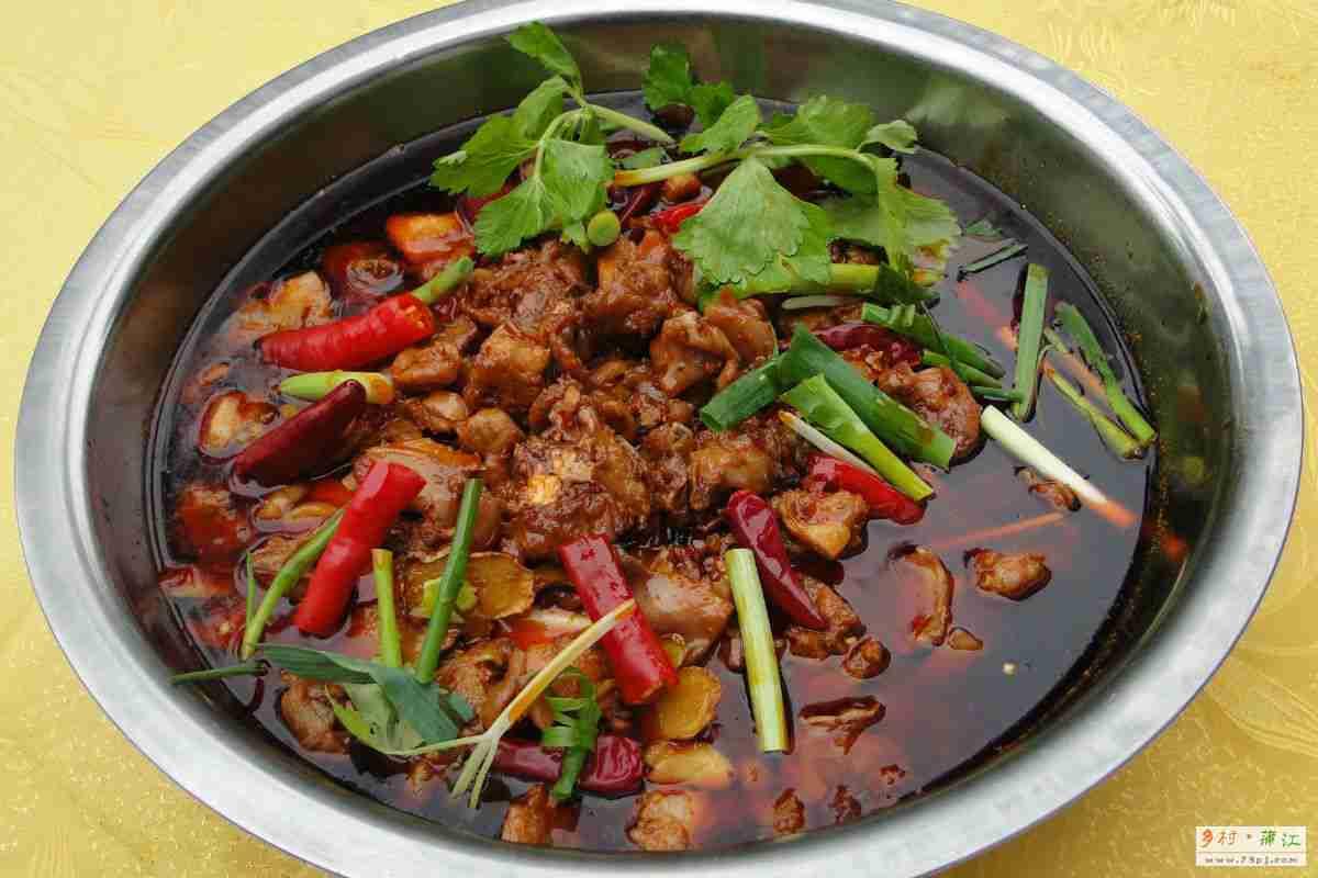 香橙兔  - 蒲江乡村美食节十大招牌菜之一